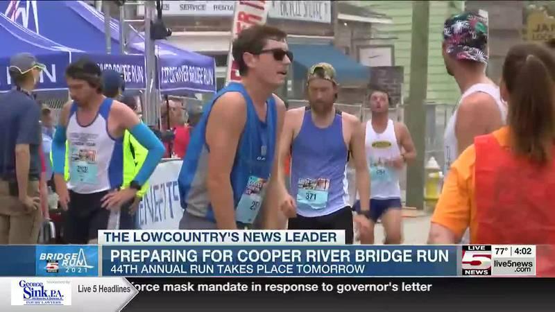 VIDEO: Bridge Run officials recommend against spectators at Finish Festival