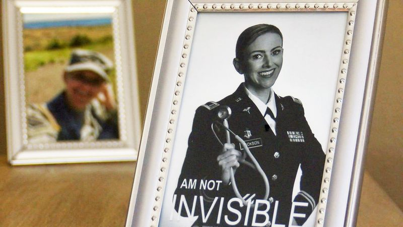 Brooke Jackson Kahn joined the military in 2009 and enlisted as a combat medic.