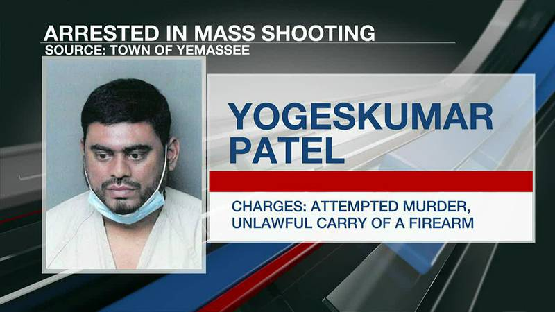 VIDEO: Police make first arrest in Yemassee mass shooting that killed one, injured seven