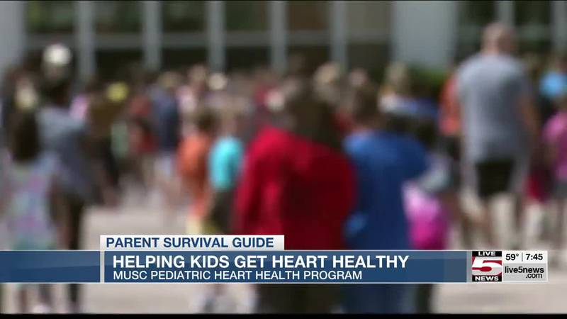 VIDEO: Parent Survival Guide: Helping kids get heart healthy