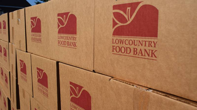 The Lowcountry Food Bank says there is no sign up and the giveaway will continue until all of...