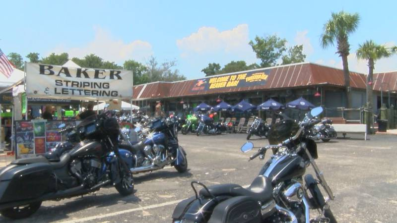 Spring Bike Rally was scheduled to be held in May but was pushed back until July due to COVID-19.