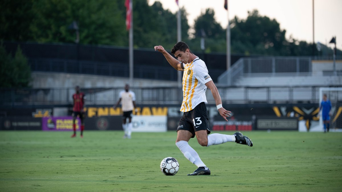 Charleston Battery midfielder Mauro Cichero #13 in action during the first half of the USL...