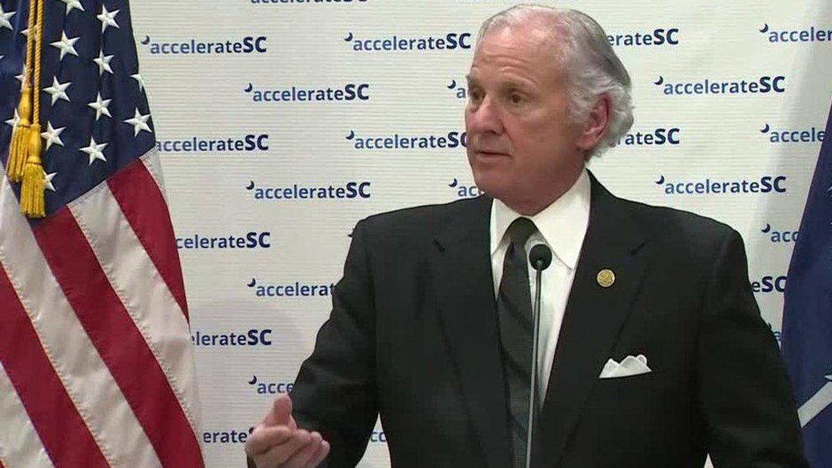 South Carolina Gov. Henry McMaster