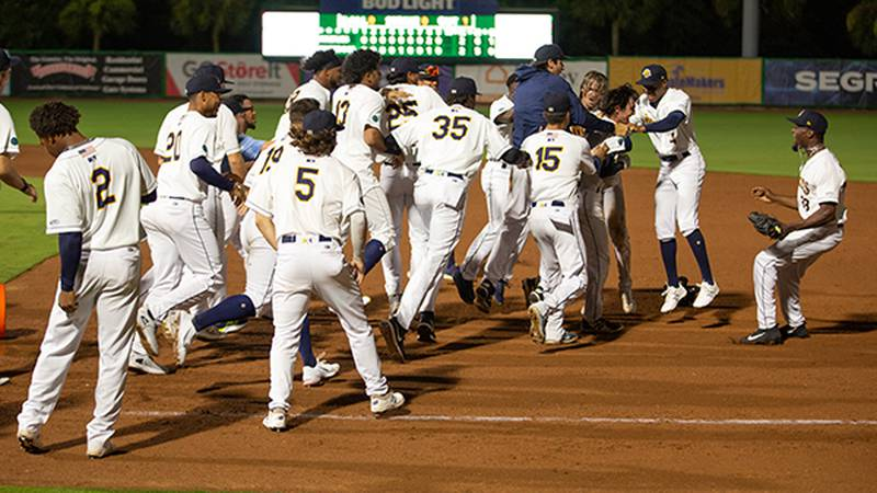 For the 2nd straight night, the RiverDogs earn a walk-off win over Columbia