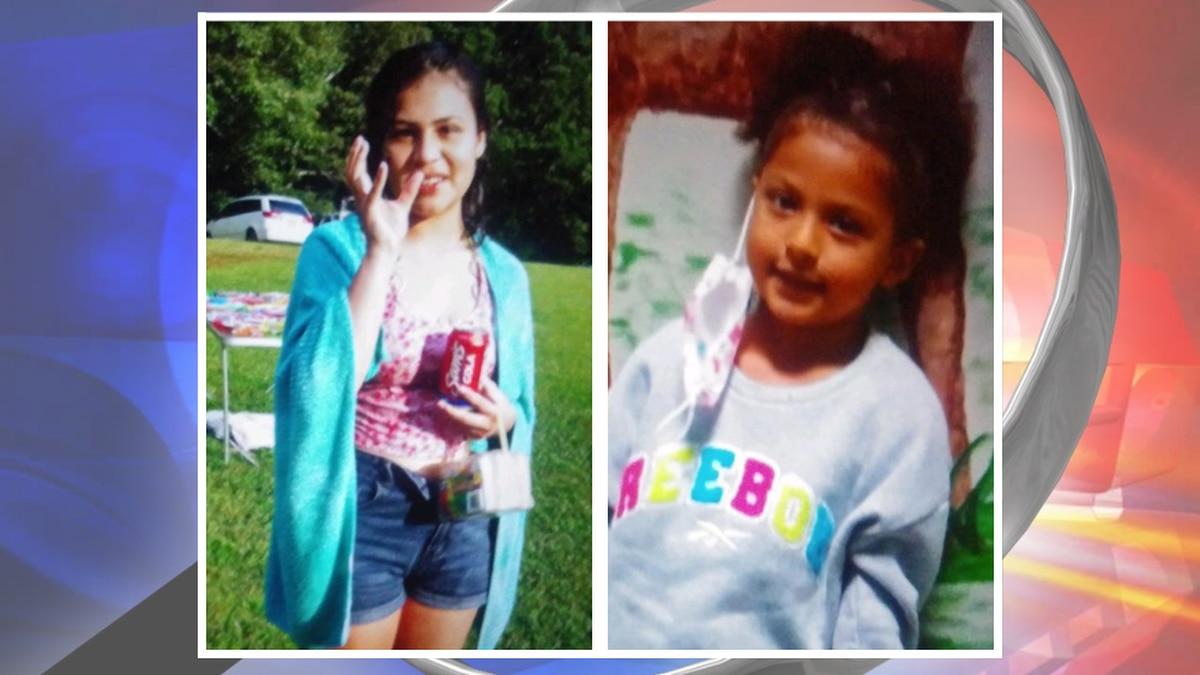 17-year-old Estephanie Negrete Ramirez (left) and 6-year-old Celesta Negrete Ramirez (right).