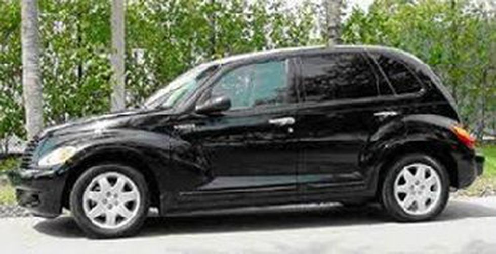 A stock photo of the suspect's vehicle. (Source: CPD)
