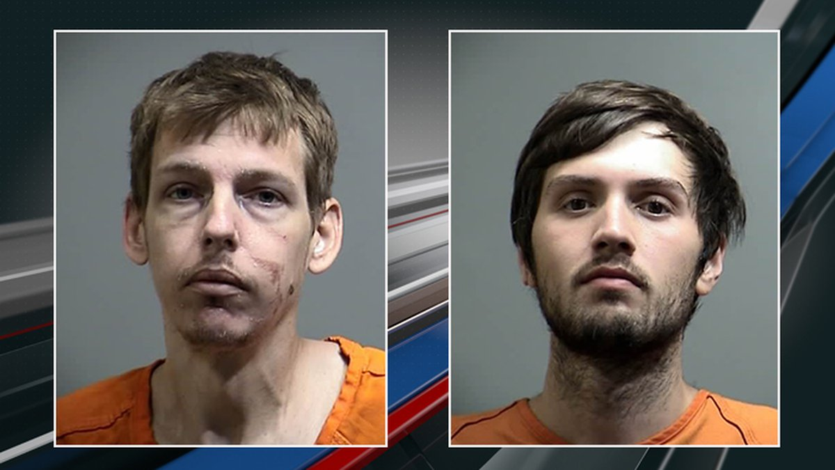 The Georgetown County Sheriff's office arrested 24-year-old Dillon Scott Robinson (right) of...