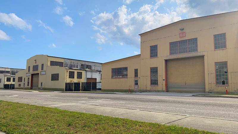 Many of the buildings on the site will go through extensive renovations, and officials with...