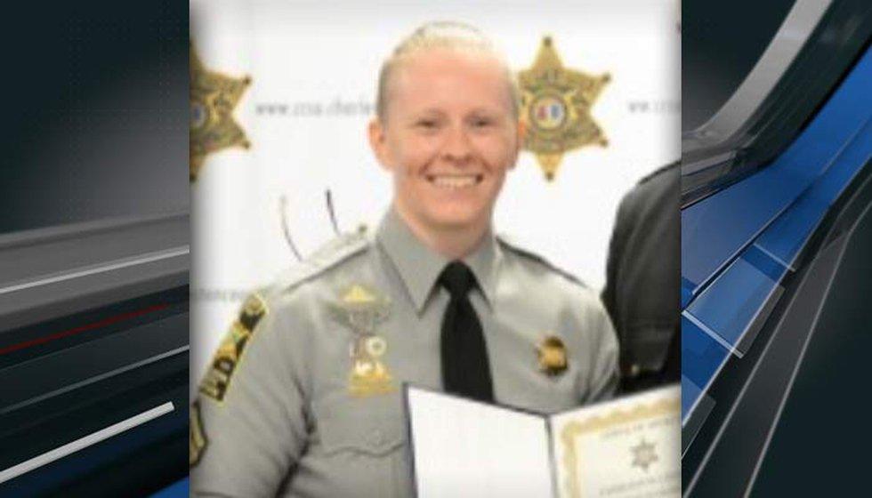 Charleston County Sheriff's Detention Sgt. Lindsay Fickett