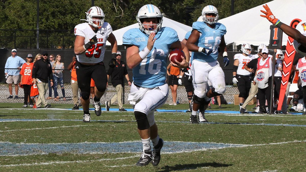 Brandon Rainey rushed for over 100 yards for a third time this season as The Citadel knock off...