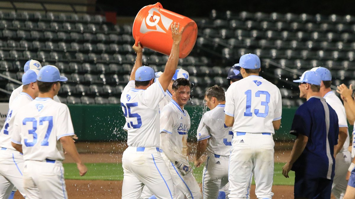 The Citadel broke their 12 game losing streak with a walk-off win over Jacksonville