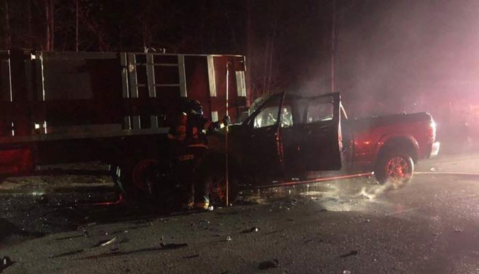 The crash, involving a pickup truck and a dump truck, happened on Dec. 14 at approximately 6:12...