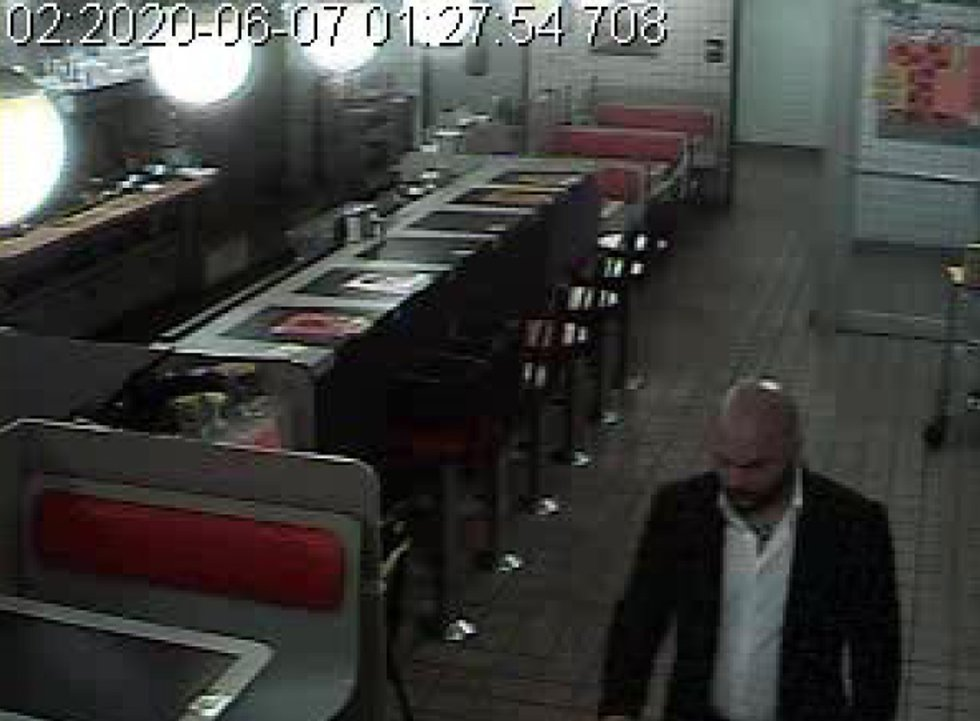Picture of the suspect