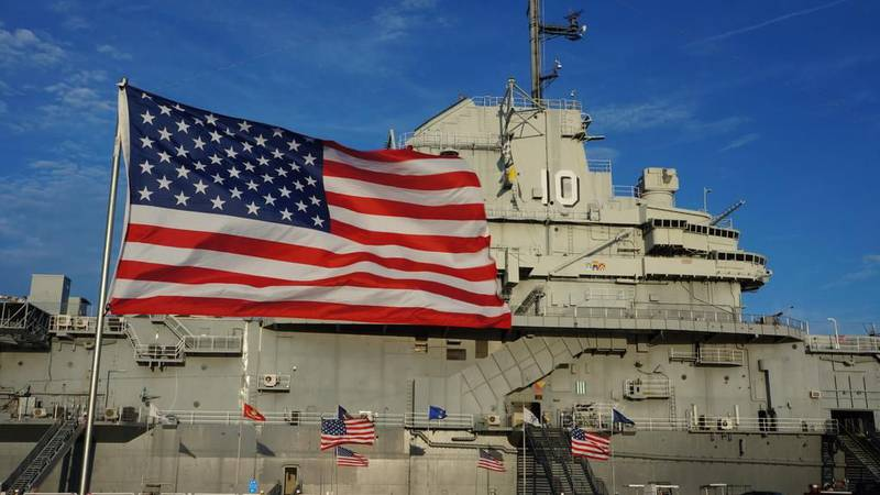 Officials with Patriots Point say things are well underway for their Fourth of July celebration.