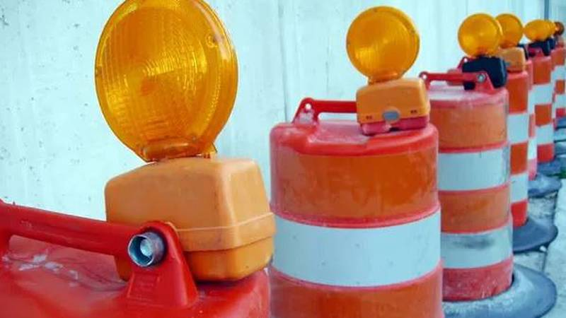 Construction crews in Berkeley County are giving the public a heads about road work Sunday...