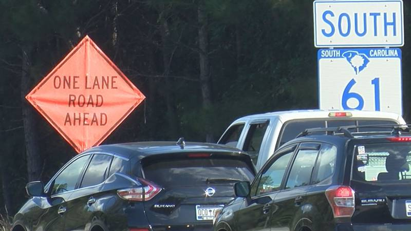 Work on Highway 61 in the fall of 2020 caused traffic headaches for many drivers.
