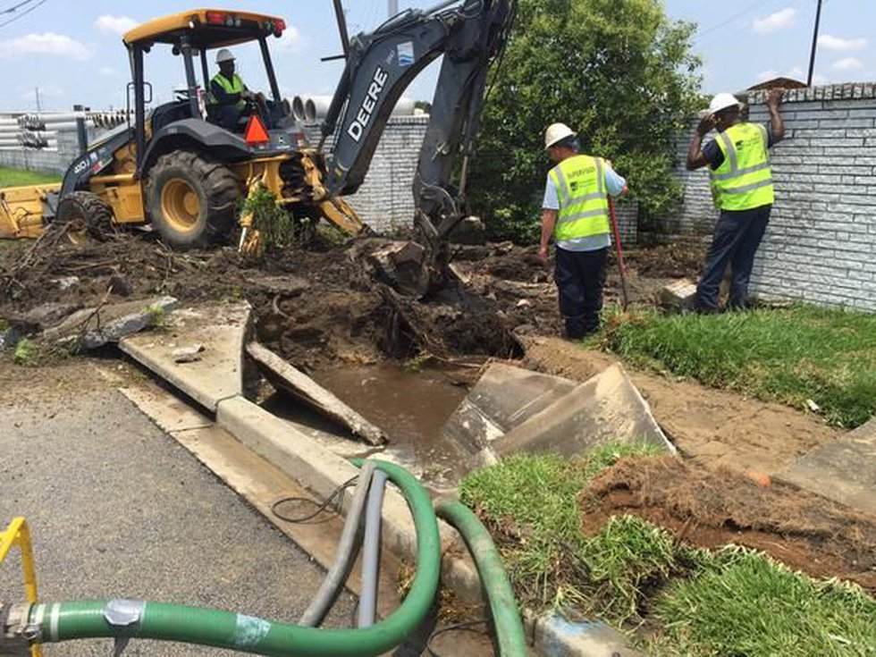 Charleston Water System says Azalea Dr. has been closed to traffic as crews work to replace the...
