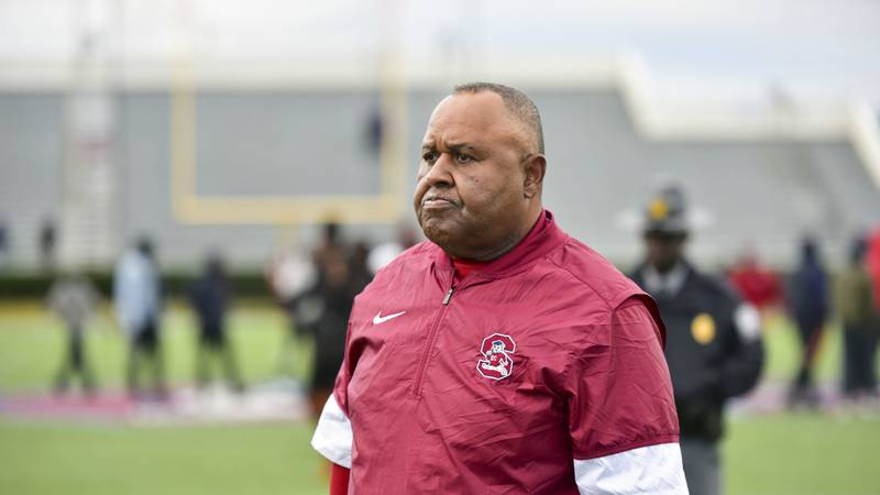 SC State head coach Buddy Pough returns to coach the Bulldogs for his 18th season in...