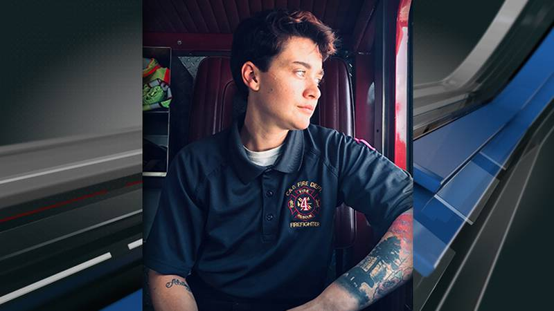 St. Paul Fire District firefighter Ethan Crocker was walking his dog when he reportedly saw...