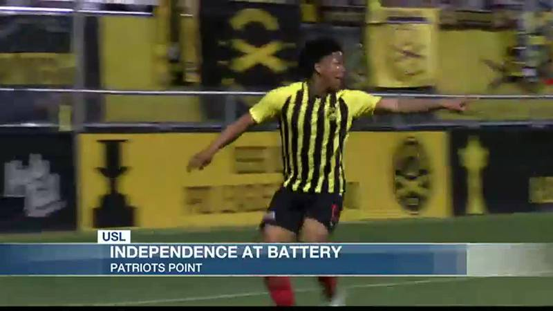 Battery Shut Out Charlotte 2-0 in First Leg of the Southern Derby