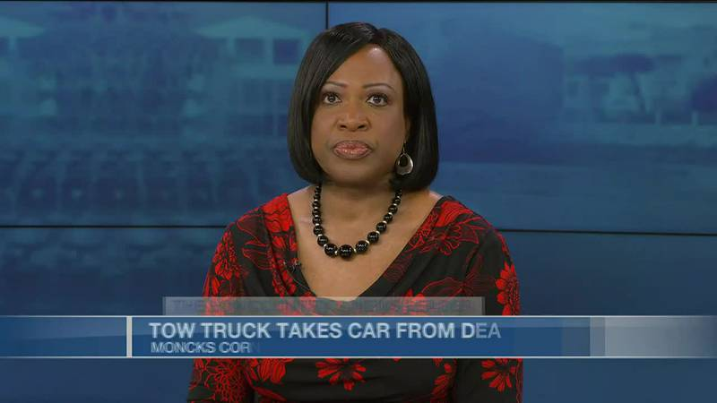VIDEO: Dealership says car on its lot improperly towed, later found on fire