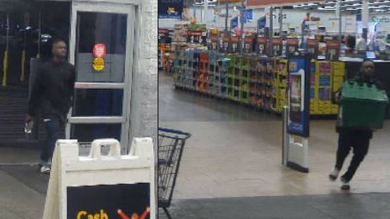 Goose Creek police looking for man who stole storage container of cigarettes. (Source: Goose...
