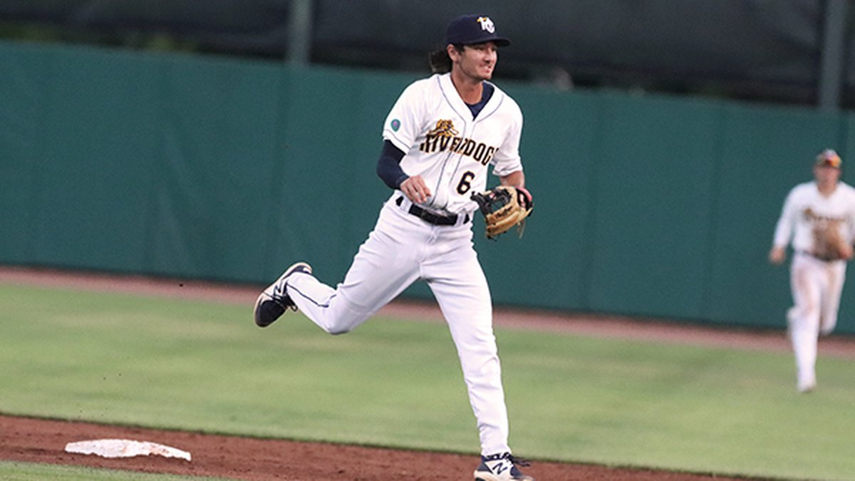 he Charleston RiverDogs secured a winning series by knocking off the Augusta GreenJackets 9-4...