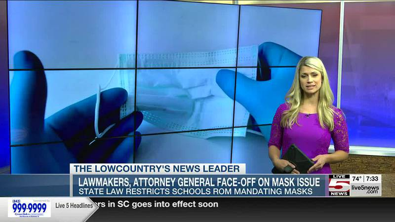 VIDEO: State senator and AG debate if SC colleges can impose a mask requirement on campus