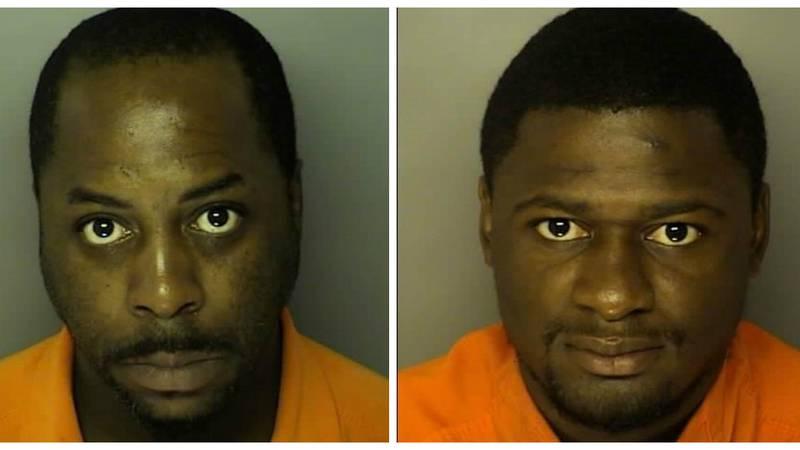 L-R: Bradford Britton and Derrick Rivera