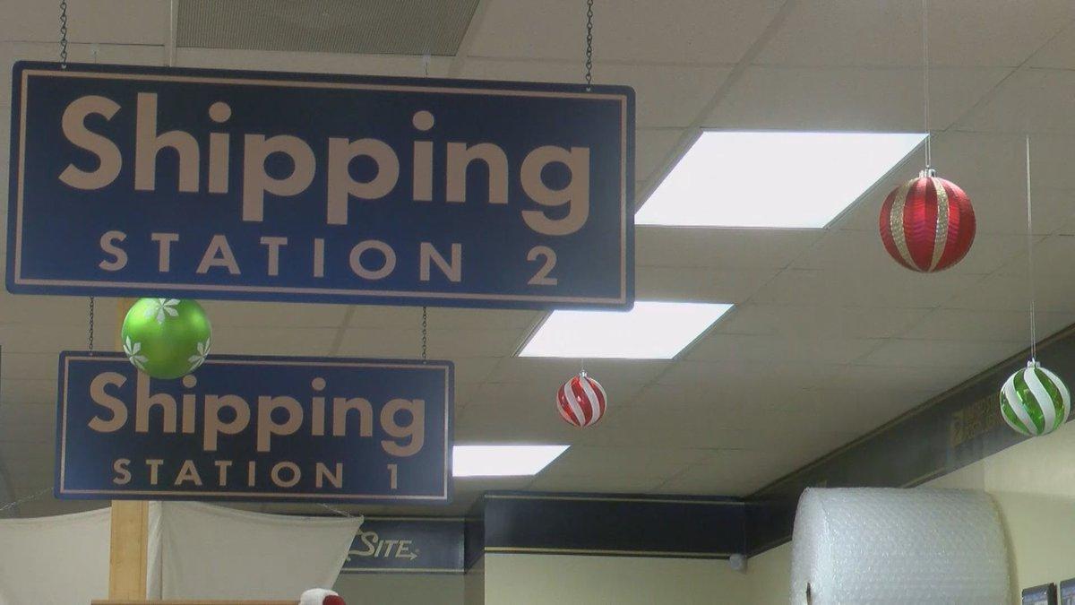 Holiday shipping returns