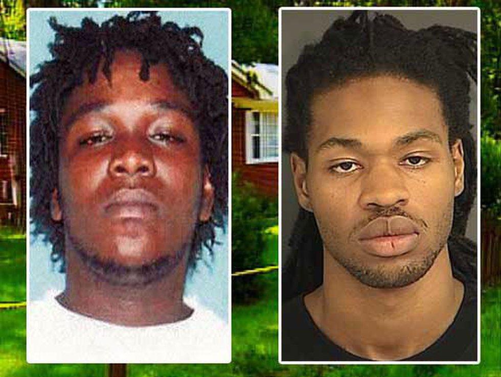 Antoine Donell Alston, left, and Eric Joseph Thompson (Source: Charleston County Detention...