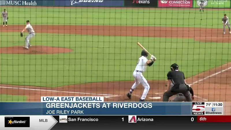 The RiverDogs won their 11th in a row over the GreenJackets on Wednesday sweeping a doubleheader