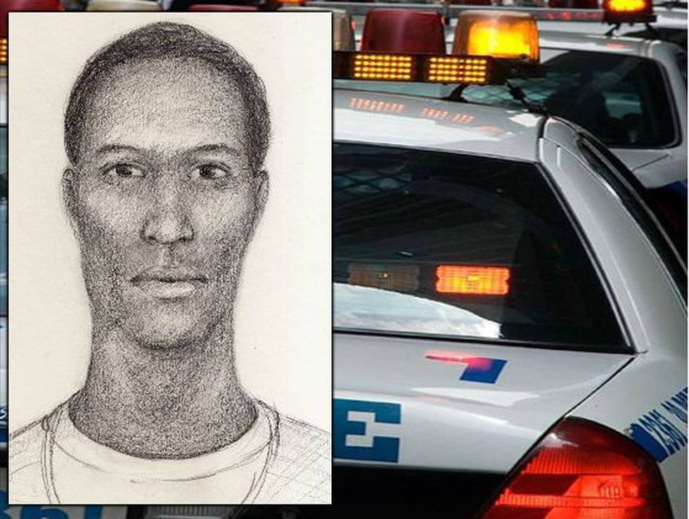 Sketch of one suspect in home invasion. (Source: GCSO)