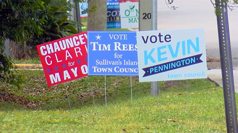 It's a small island with big issues driving a local election this week. Sullivan's Island is...