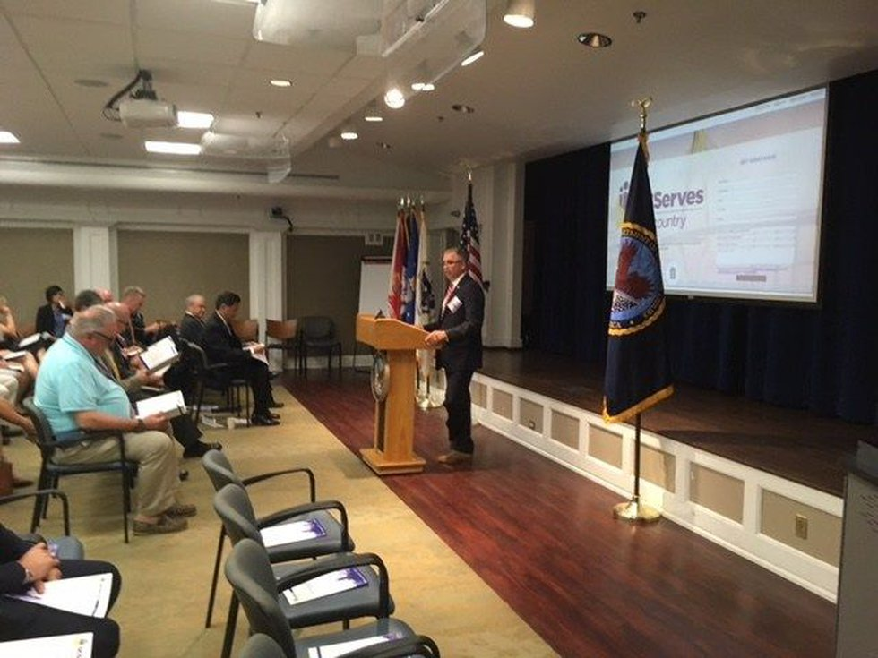 Col. Jim McDonough speaks at launch ceremony (Source: Live 5)