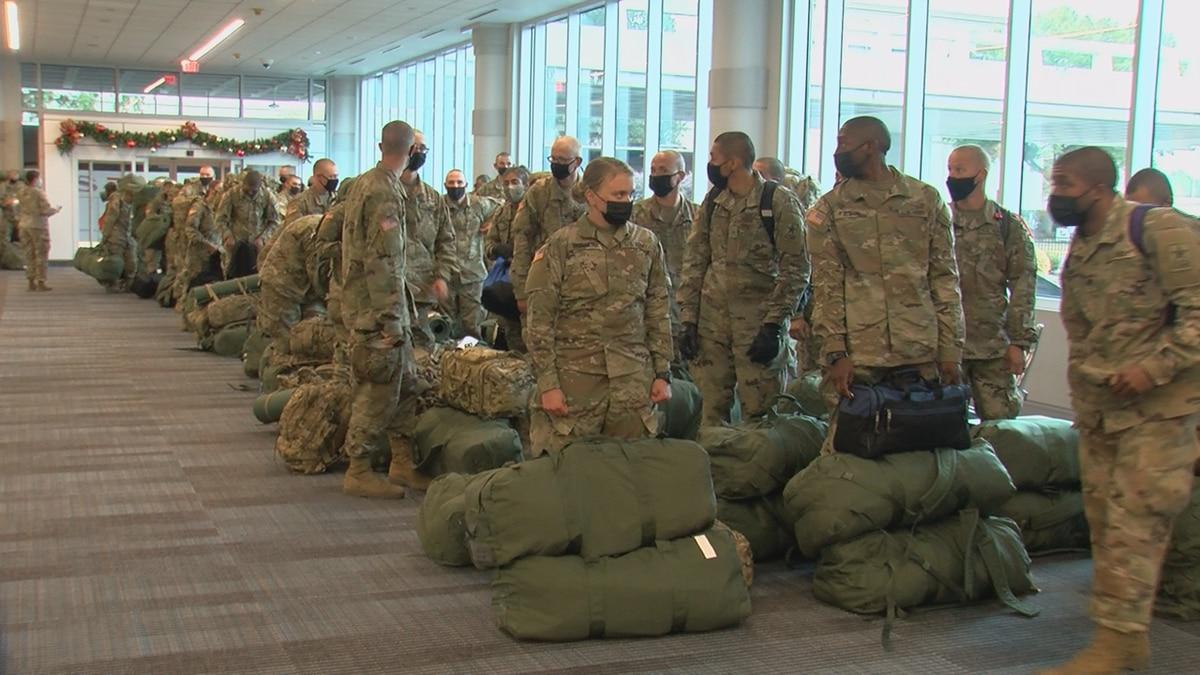 Fort Jackson officials began preparing for the two-week break back in October.