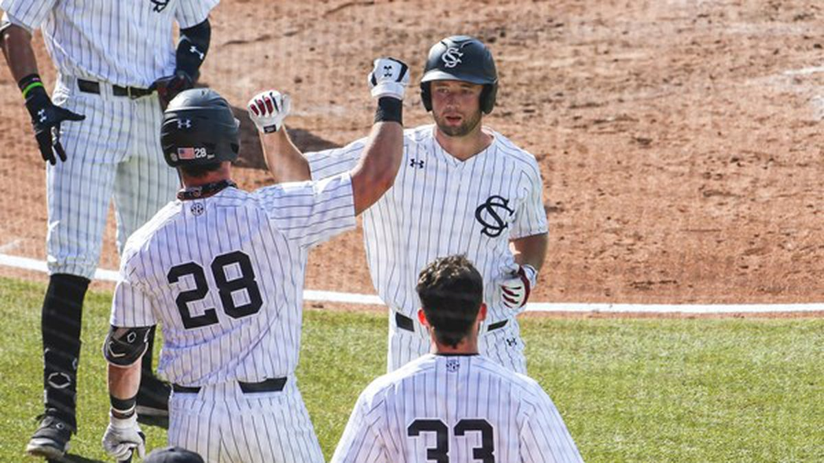 Eyster went 8-for-12 with four runs scored, four walks and nine RBI in the three-game road...