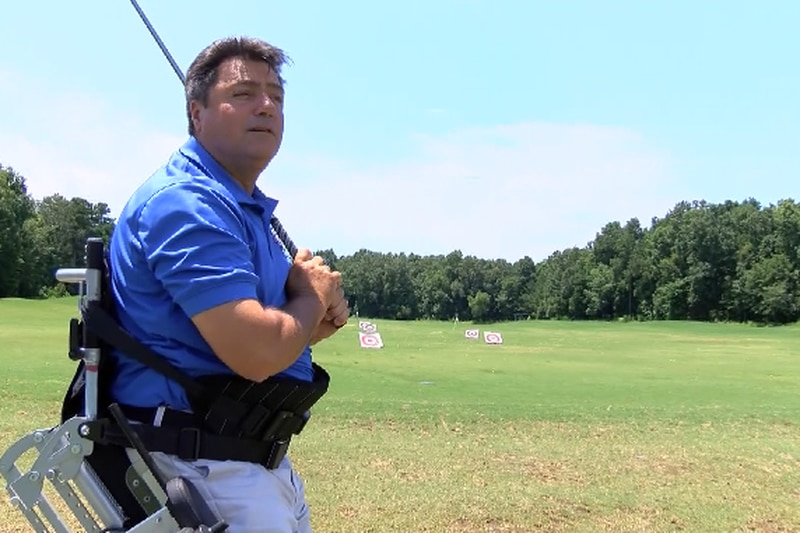 The charity was initially geared towards veterans, but PGA Hope Charleston Director Rich...