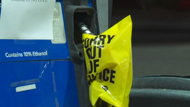 'Panic buying' creates long lines, shortages, and higher prices at gas stations in SC
