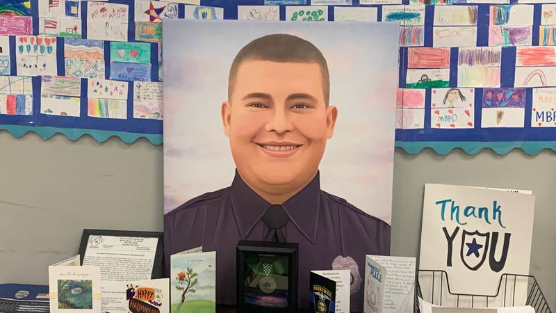 A Myrtle Beach officer killed in the line of duty was posthumously awarded the Medal of Honor...