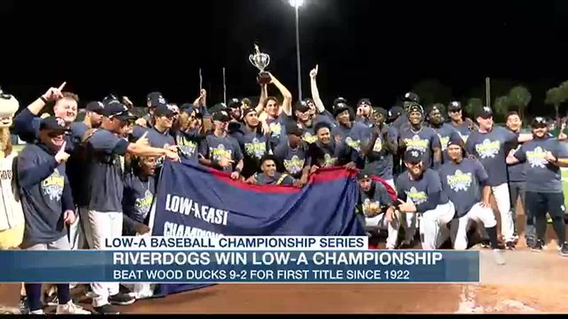 RiverDogs win Low-A East Championship