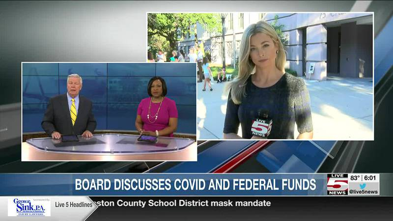 VIDEO: Charleston County schools leaders meeting for first time since implementing mask mandate
