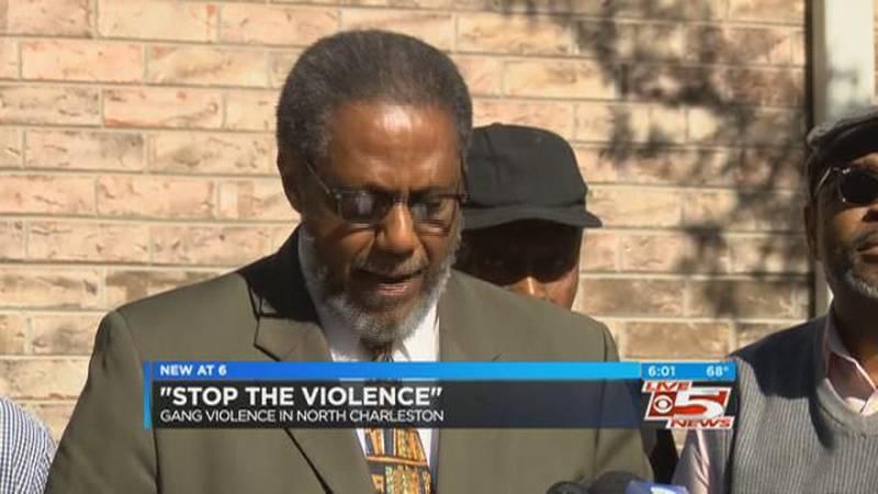 Local activists ask North Charleston gang members to call them