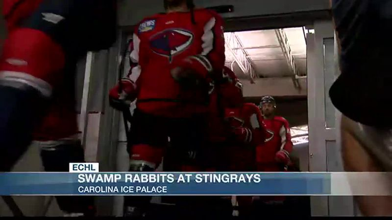 Stingrays Blow By Greenville In Decisive Game 1