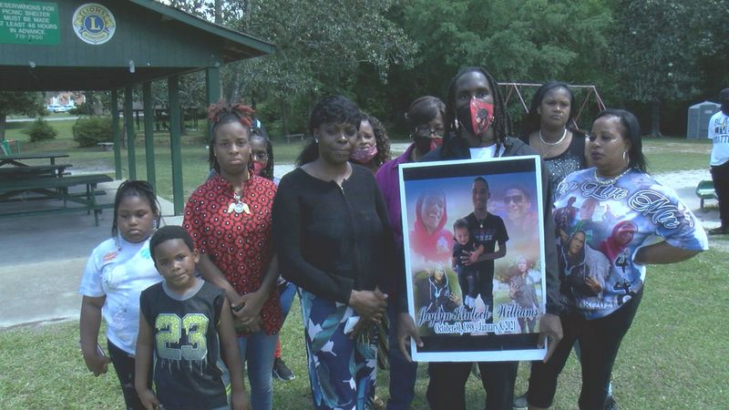 The family of Jaylyn Kinloch-Williams is upset after the men accused of murdering their loved...