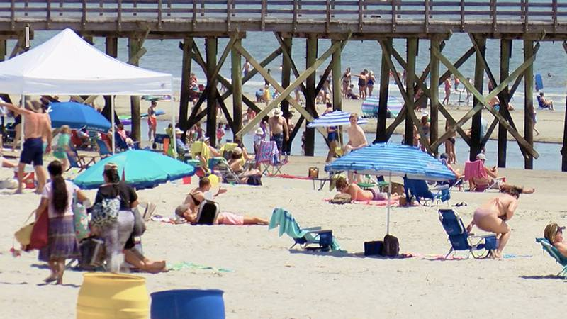 Thousands of visitors are making their way to Lowcountry beaches this week and Isle of Palms...