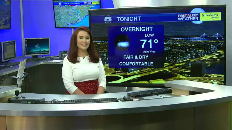 VIDEO: Your Saturday night forecast