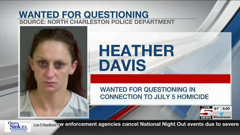 VIDEO: N. Charleston Police looking to question woman about homicide