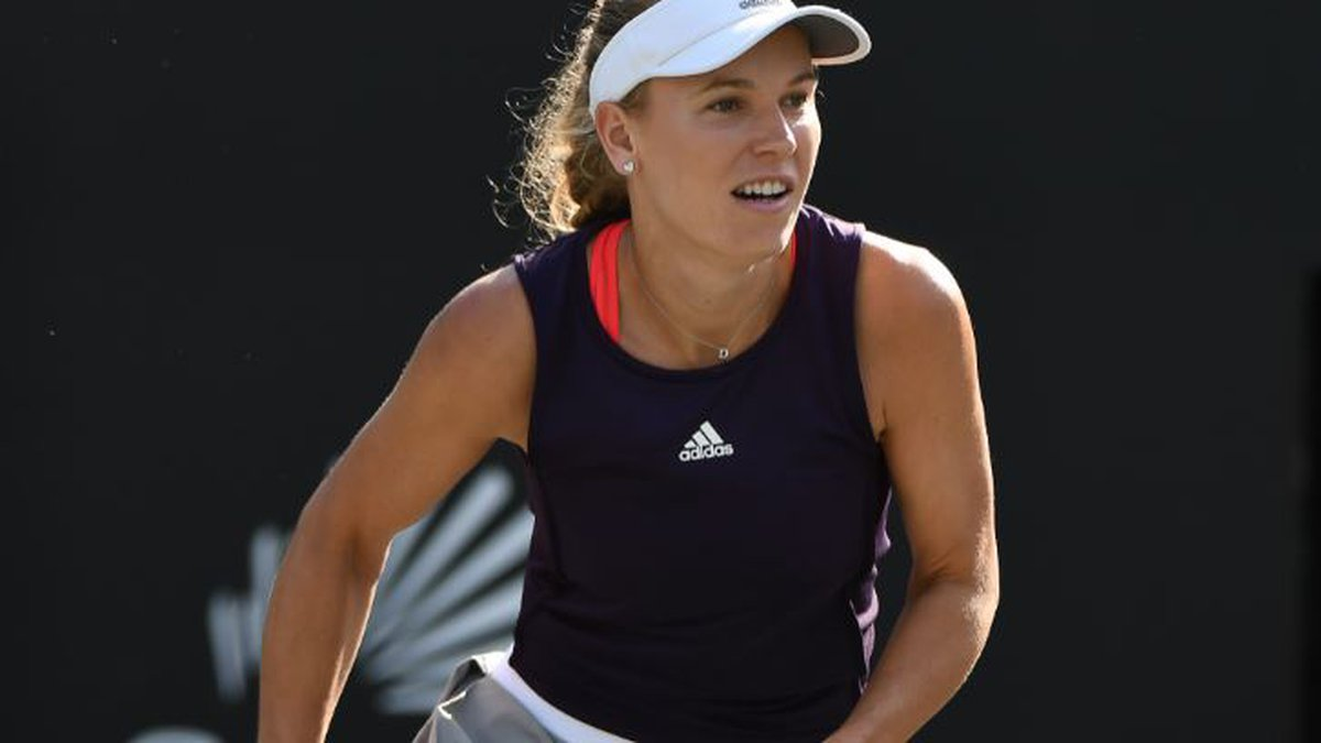 Caroline Wozniacki advanced to the 3rd round of the Volvo Car Open with a straight sets win on...